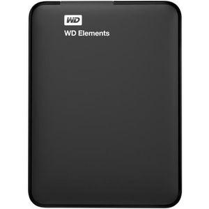 DISQUE DUR EXTERNE WD Elements Portable WDBU6Y0020BBK Disque dur 2 To