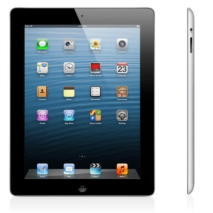 tablette tactile 10 pouces pas cher apple ipad 3 retina noir 32 go wifi prix pas cher cdiscount. Black Bedroom Furniture Sets. Home Design Ideas