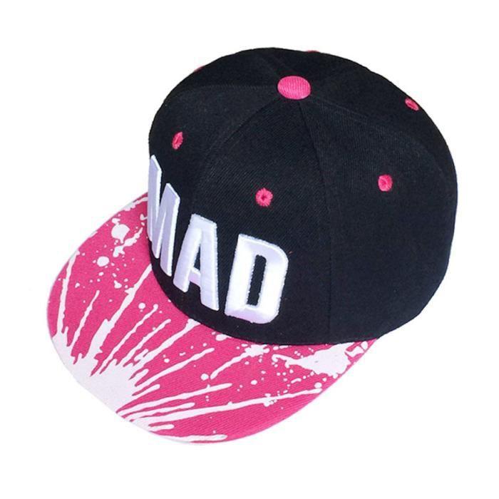 9320be7de412 Chapeau tendance Snapback casquette enfant garçons filles lettres baseball  casquettes plat hip hop Cap chaud YHL70617182HOT