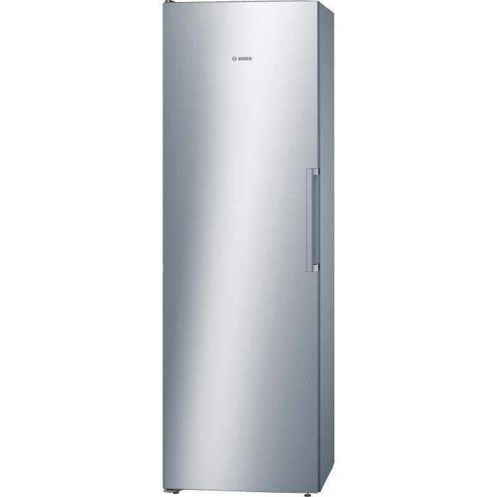 √ Réfrigérateur 1 Porte Froid Ventilé Inox
