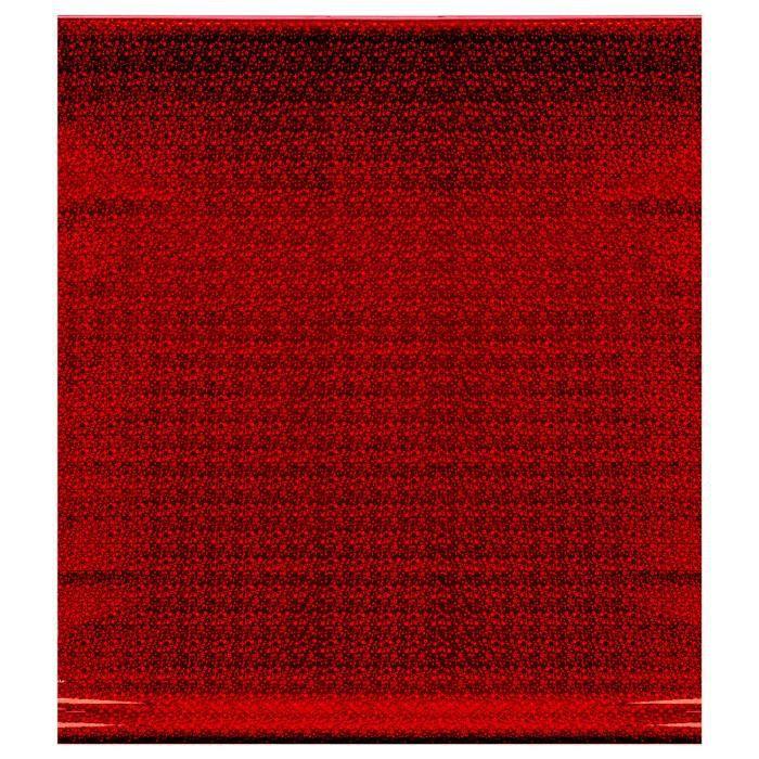 PAPIER CADEAU Papier cadeau Métallique - Holographique - Rouge