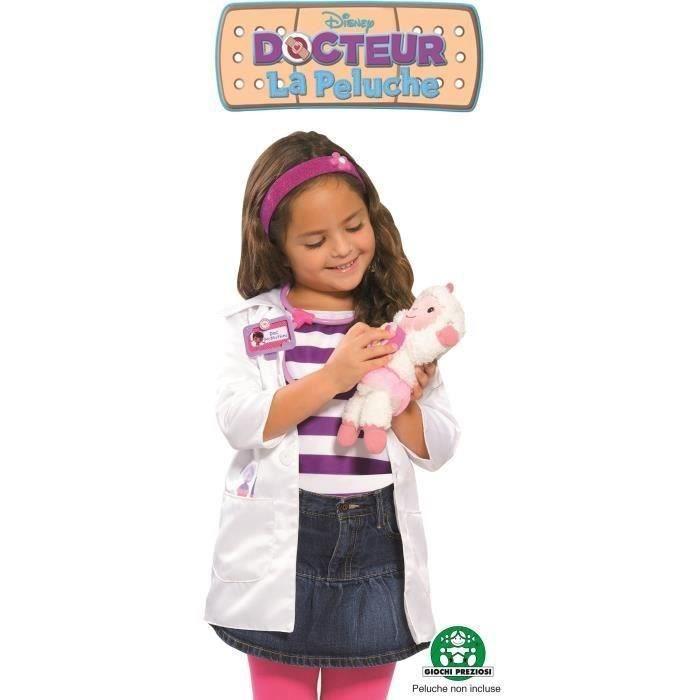 Docteur la peluche panoplie tenue docteur achat vente docteur v t rinaire cdiscount - Docteur la peluche malette ...