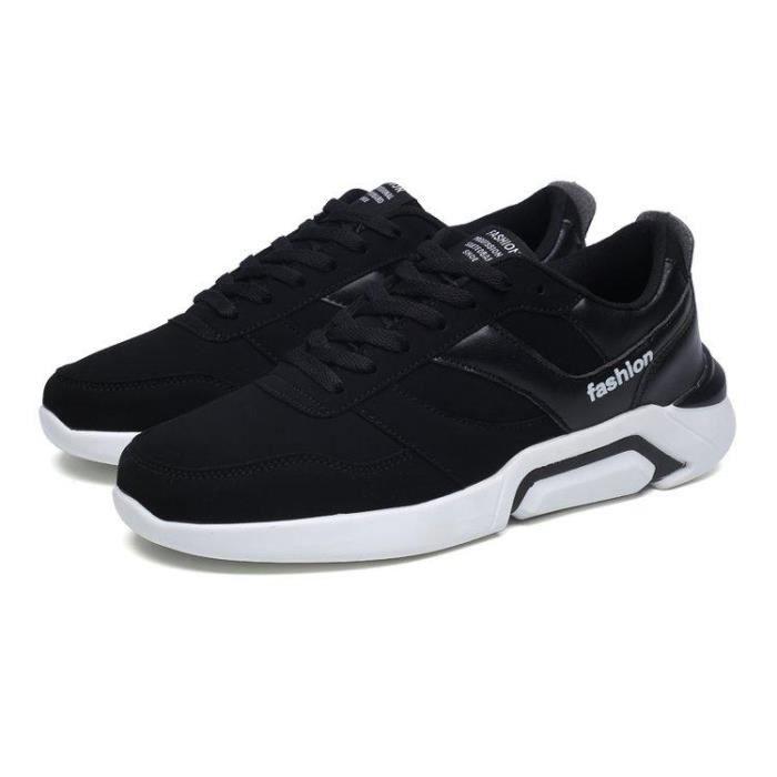 5c48c6e5ccc Chaussure De Running Meilleure Qualité Ultra-RéSistant à L Abrasion Confort  Respirabilité Homme Noir-blanc R18720397 2815
