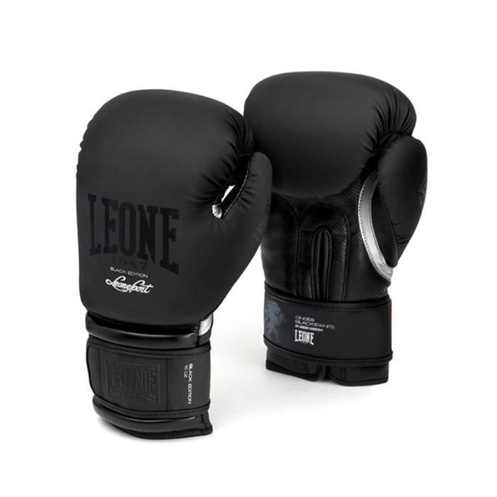 GANTS DE BOXE LEONE Gants de boxe Black&White - Homme - Noir