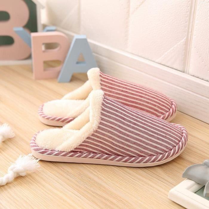 chaud Chaussons Pantoufles pantoufles de coton à la maison dvqwqx6f0