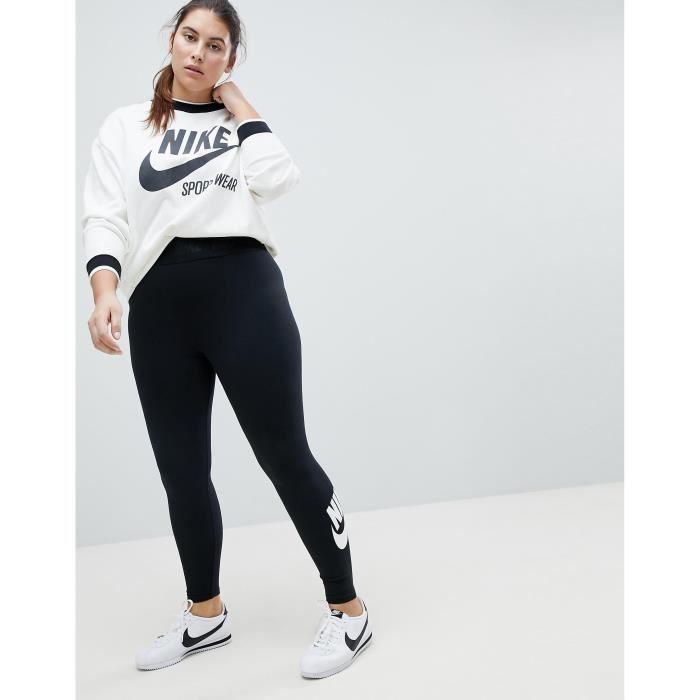 Nike Plus - Leg-A-See - Leggings taille haute - Noir OHMSI Taille-40 ... 4bc50dbce25