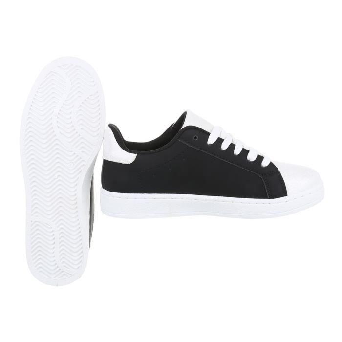 Chaussures femme chaussures sportSneakers Chaussures de sport noir blanc 40 H00RhA2