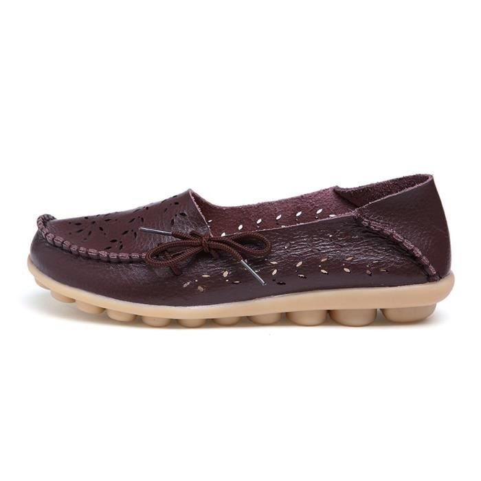 Confort Respirant marche Flat Mocassins FPDJR Taille-41