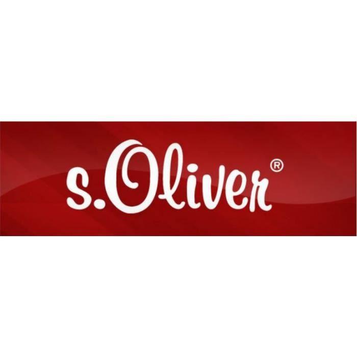s.Oliver - s.Oliver SO1419 - 01 Femmes Collier Argent Zirconia champagne 45 cm Réf 48984