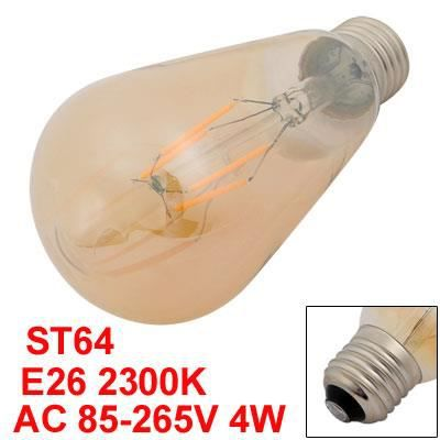 Style St64 E26 Antique Sourcing Map Edison Ampoule 4w 2300k Vintage Filament Base 1TAq8w