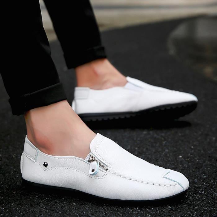 Homme Richelieu Soulier Chaussure de Cuir de Business Casual Classique 9FFu9TITkr