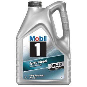 Huile MOBIL 10W40 Turbo-Diesel 5L