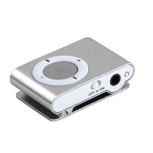 LECTEUR MP3 Lecteur mp3 clips en métal de musique USB Media Pl