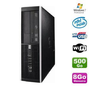 UNITÉ CENTRALE  PC HP Elite 6000 Pro SFF E5400 2.7Ghz 8Go Disque 5