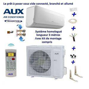 CLIMATISEUR FIXE Climatiseur réversible 2.5 kW Aux tactique kit (so