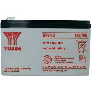 BATTERIE DOMOTIQUE Batterie plomb 12 V 7 Ah Yuasa NP7-12