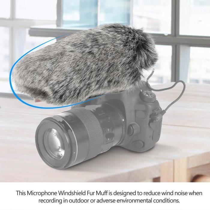 Pare-brise De Microphone Fourrure Pour Vidéo Rode Videomic---xia