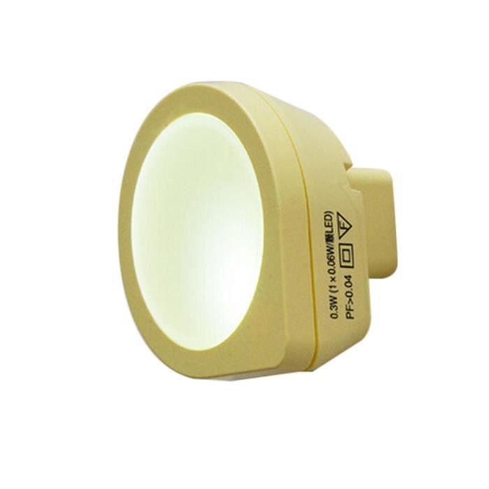 Coierbr Jaune Plug Lampe Saving Energy In Sensor Automatique Bl4442638 Dark led Night Light rxqTBrS