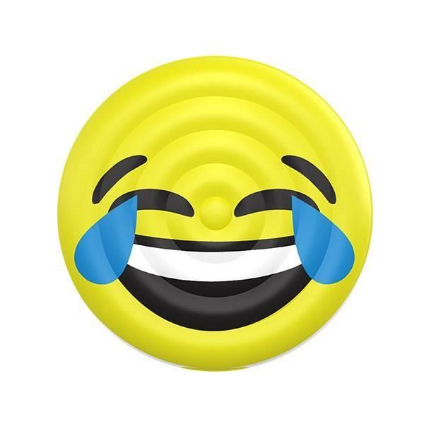 BOUÉE - BRASSARD Bouée gonflable Adulte - Emoji LOL - Ø 150 cm