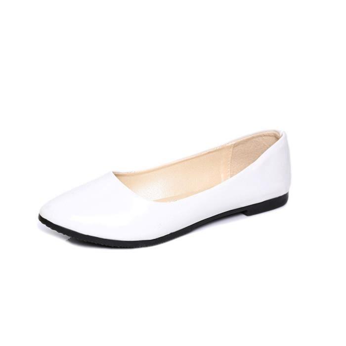 Chaussures Plates Elégant Nouvelle Qualité Supérieure Moccasin Mode Plus De Couleur Rétro Chaussure Confortable Super Doux 35-42 5MlLSonzL