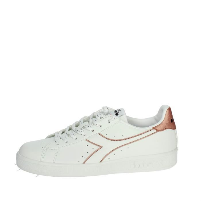 Diadora Petite Sneakers Femme Blanc/rose, 37