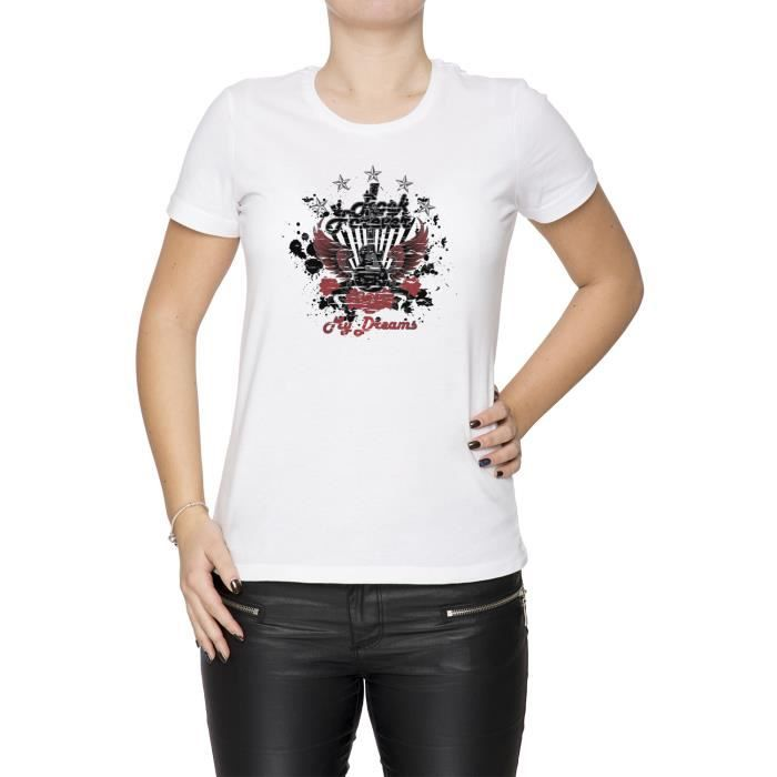 Tee-shirt - Rock Forever Femme Cou D'équipage