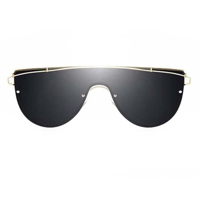 Lunettes Lunettes Nouveau Voyager Sunglasses pour Unisexe en Soleil de Métal Homme Solaires Conduire UV400 Noir Monture Femme xqYwCYrd