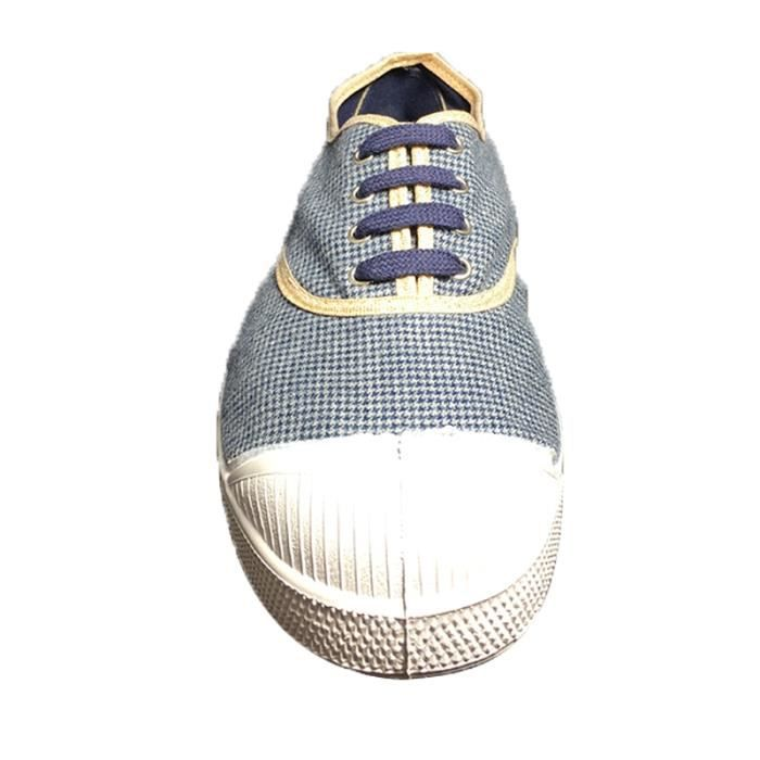 Baskets Bensimon Tennis à Lacets Pied de Puce
