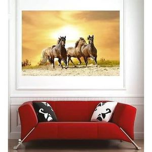 Poster mural cheval - Achat / Vente pas cher