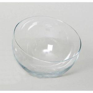 VASE - SOLIFLORE Centre de table - Vase NELLY en verre transparent,