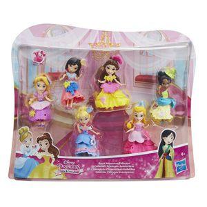 FIGURINE - PERSONNAGE Coffret LITTLE KINGDOM pack de 6 princesses little