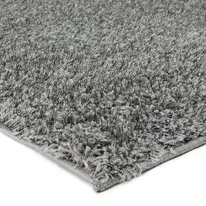 tapis poil long gris achat vente tapis poil long gris pas cher cdiscount. Black Bedroom Furniture Sets. Home Design Ideas