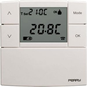 THERMOSTAT D'AMBIANCE Perry - Thermostat électronique Zefiro avec 3 nive