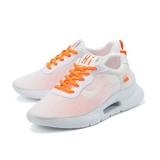 Femme Basket Mode Chaussures de Gym Sports Course Sneakers Fitness Gym de athlétique Multisports Outdoor Casual orange 37 Orange Orange - Achat / Vente basket d3a731
