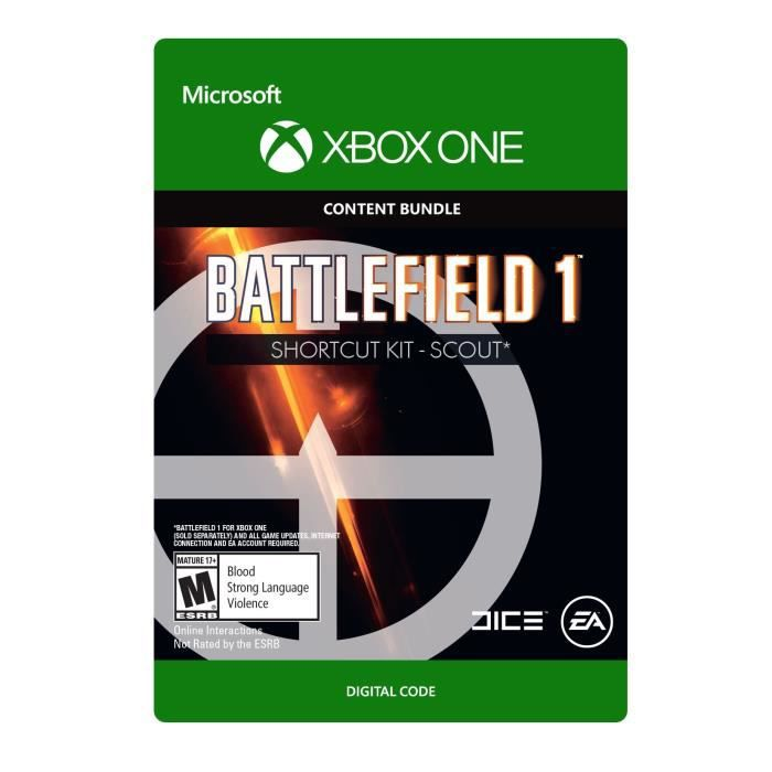DLC Battlefield 1: Shortcut Kit - Scout Bundle pour Xbox One