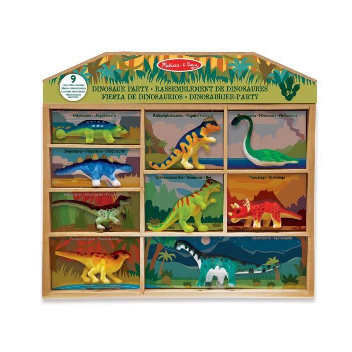 MELISSA & DOUG Rassemblement De Dinosaures