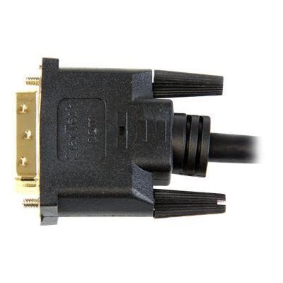 Câble HDMI vers DVI-D de 2 m - M/M - Câble HDMI vers DVI-D de 2 m - M/M - HDDVIMM2M