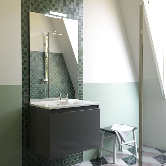 cdiscount meuble salle de bain double vasque cina ensemble salle de bain double vasque l cm. Black Bedroom Furniture Sets. Home Design Ideas