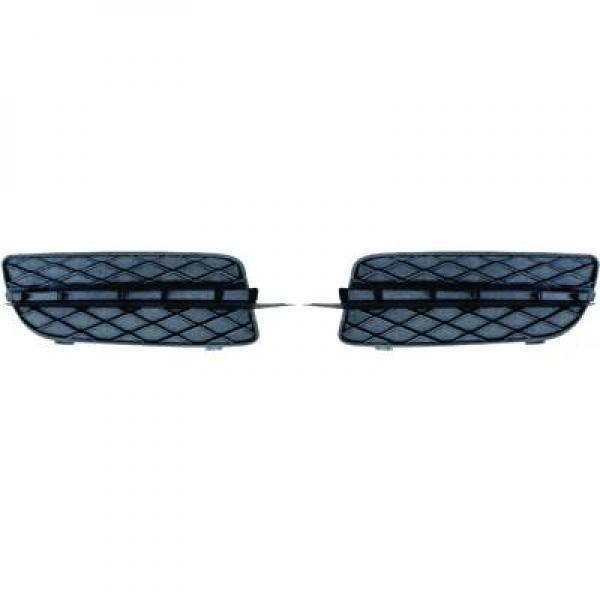 Enjoliveur, pare-chocs droit noir BMW X5 (E70) de 07 à 10 - OEM : 51117159594 - 1291042
