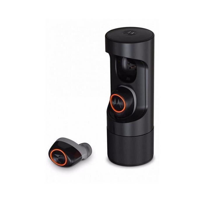Ecouteurs Intra-auriculaires Sans Fil Bluetooth Motorola Verveones True Noire