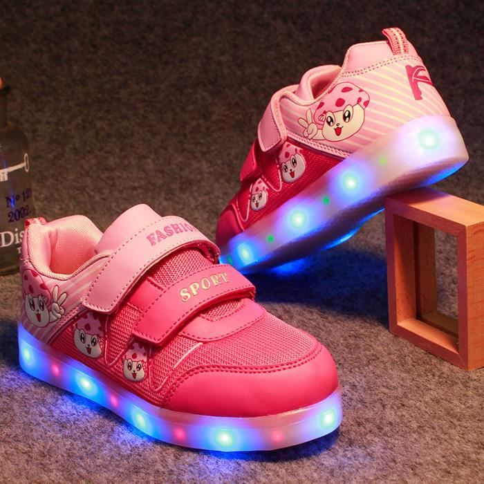 Mode enfants chaussures Led chaussures baskets ...