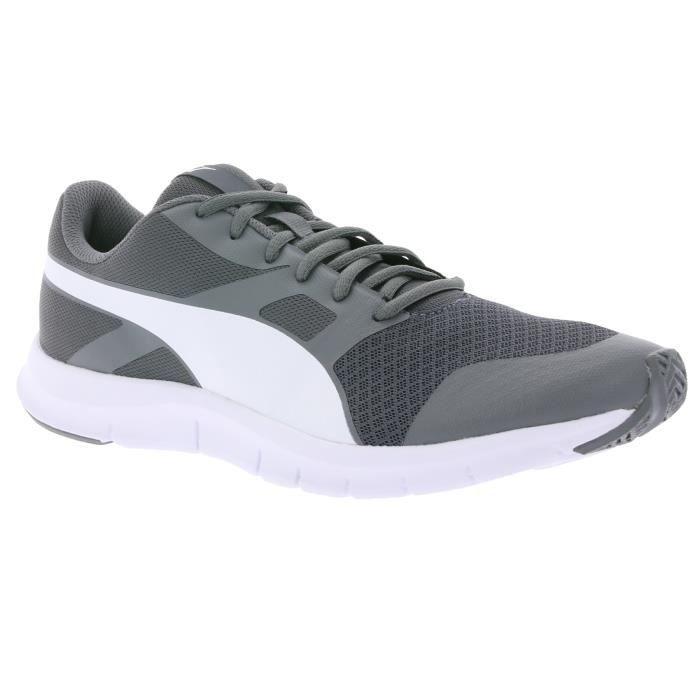 8929fa55da89 PUMA Flexracer Chaussures de course pour homme Grey 360580 32 - Prix ...