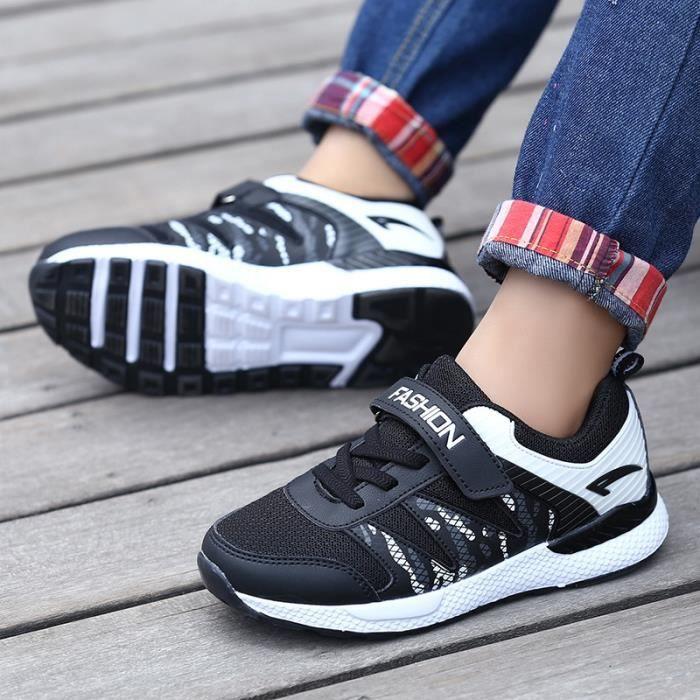 Automne nouvelles chaussures de sport pour enfants garçons chaussures de course chaussures en maille