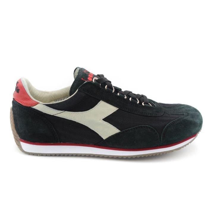 Diadora Equipe Stone Wash 12 sneaker homme blanc-rosso-blanc art.C6675T. 44
