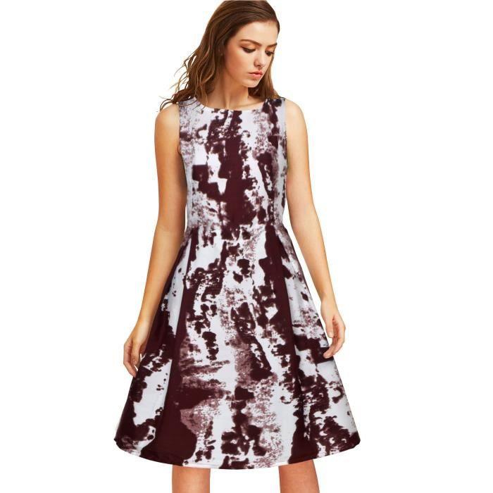 Womens Cotton Party Wear Dress 1U190W Taille-38