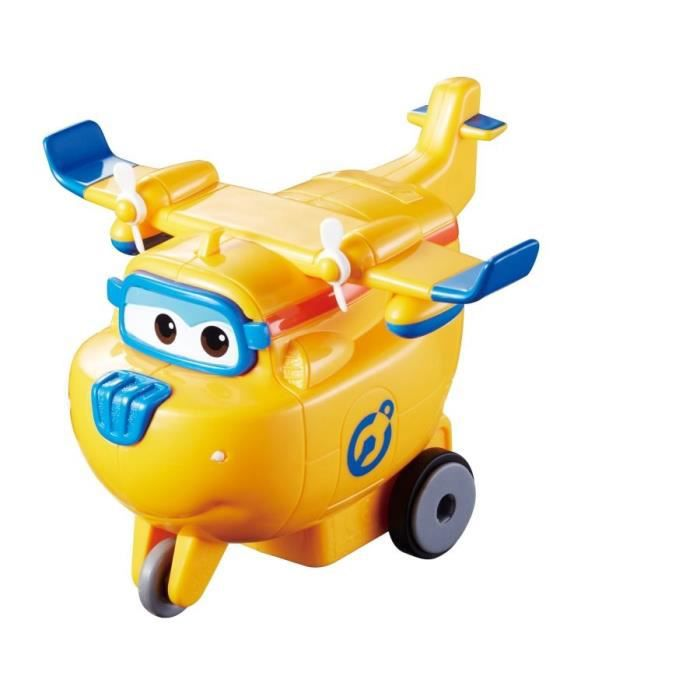 FIGURINE - PERSONNAGE SUPER WINGS Vroom'n'Zoom - Avion DONNIE à friction