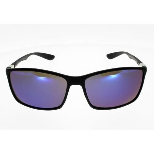AD SOL 5200 Noir verres bleutes Mixte Indice 3 Ultra Leger