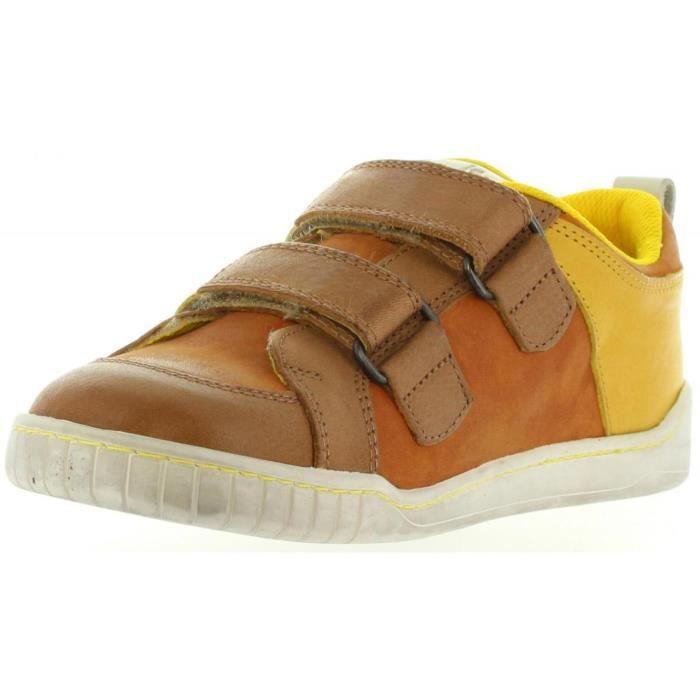 Chaussures pour Garçon et Fille KICKERS 474850-30 WINNER 116 CAMEL MOUTARD