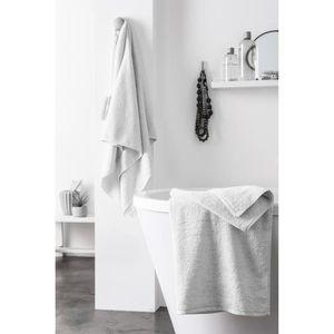 FINLANDEK Set de 2 Draps de douche KYLPY 70x140 cm blanc