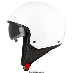 CASQUE MOTO SCOOTER DemiJet S705 Blanc Brillant XL Uni
